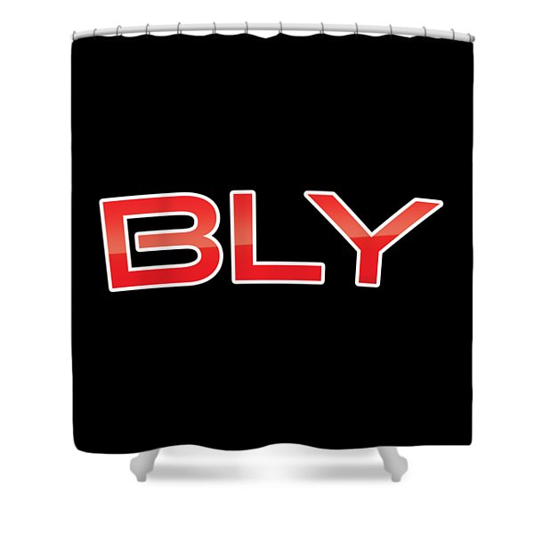 Bly Shower Curtain