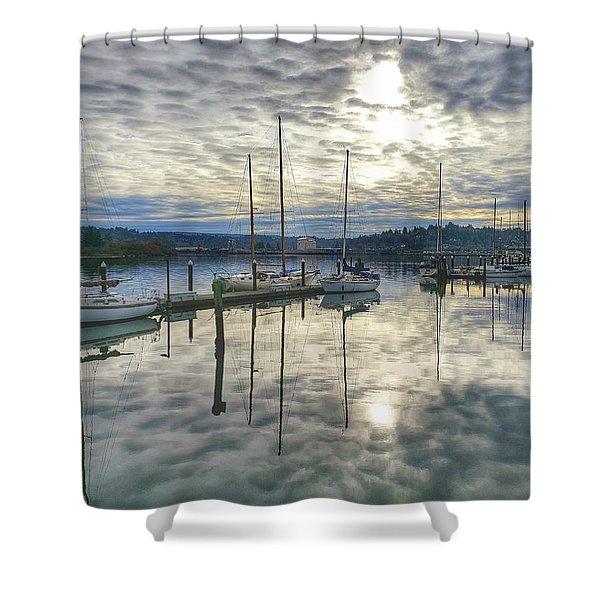 Boardwalk Bliss Shower Curtain