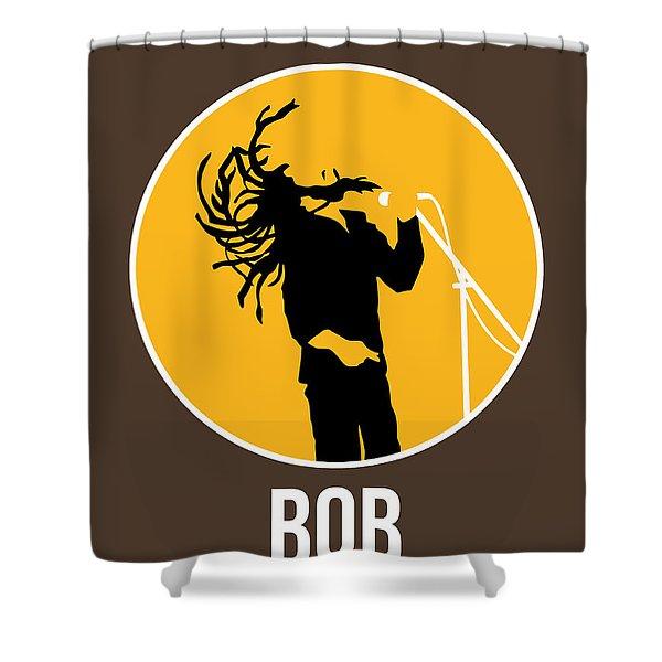 Bob Poster Shower Curtain