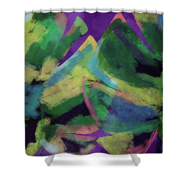 Bold Tropical Dreams- Art By Linda Woods Shower Curtain