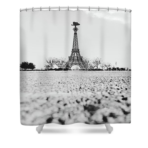 Bonjour Y'all Shower Curtain