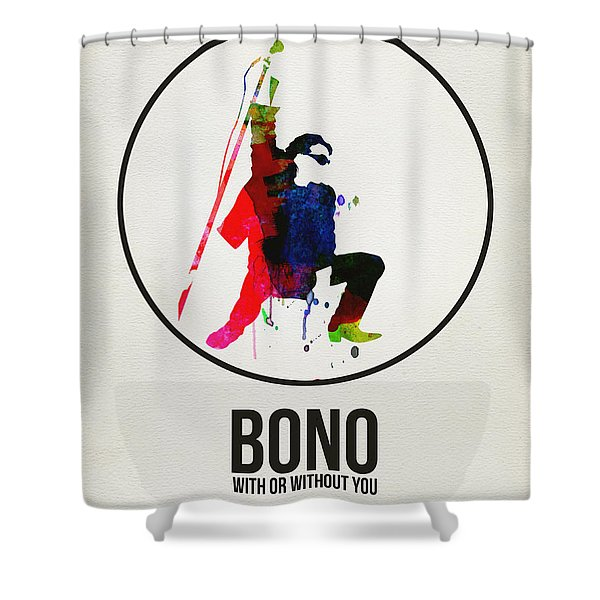 Bono II Shower Curtain