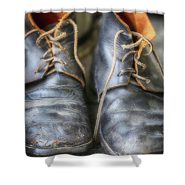 Boots Of Company H Shower Curtain