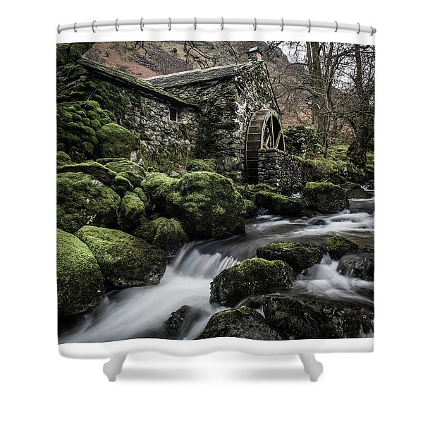 Borrowdale Mill  Shower Curtain