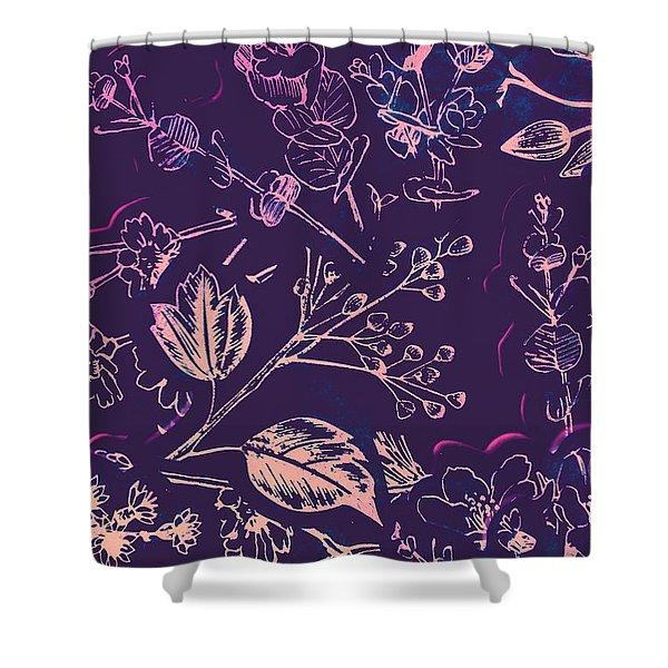 Botanical Branching Shower Curtain