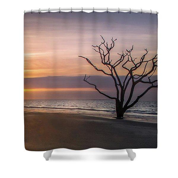 Botany Bay Sunrise Shower Curtain