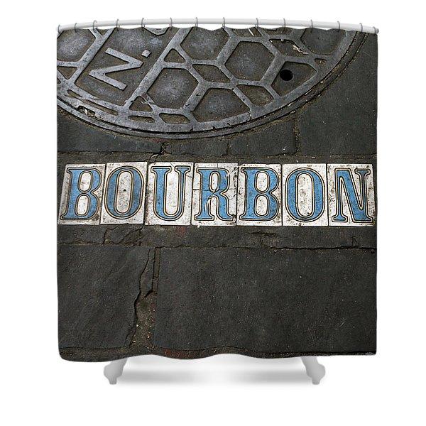 Bourbon Street New Orleans Shower Curtain