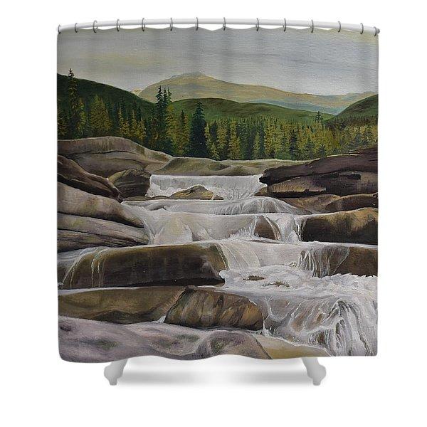 Bragg Creek Shower Curtain