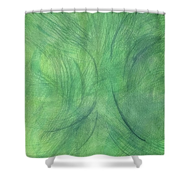 Breeze 3 Shower Curtain