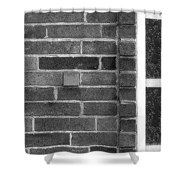 Brick And Glass - 2 Shower Curtain