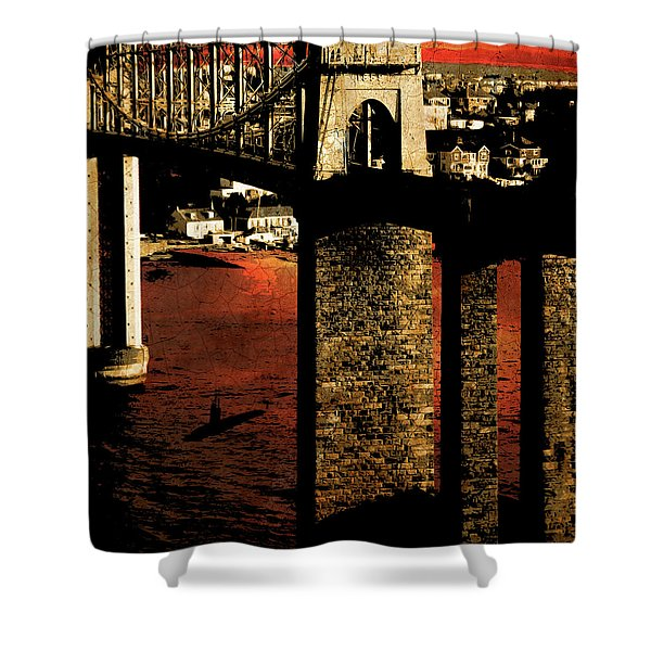 Bridge II Shower Curtain