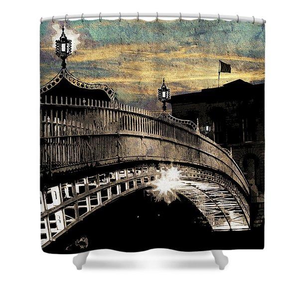 Bridge IIi Shower Curtain