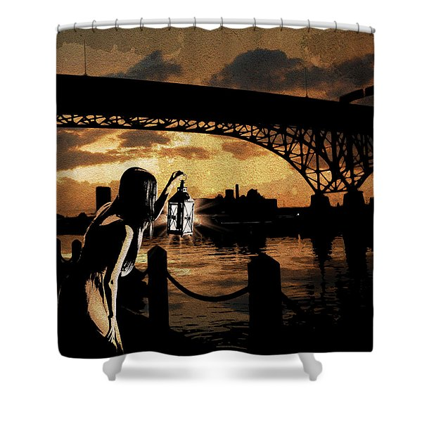 Bridge Iv Shower Curtain