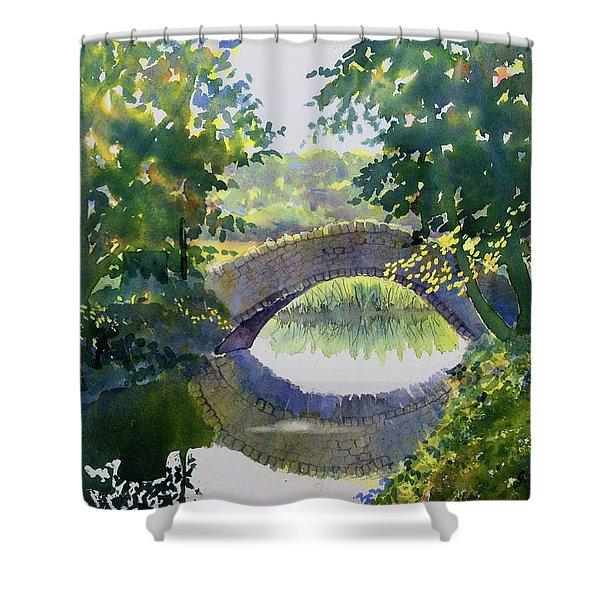 Bridge Over Gypsy Race Shower Curtain