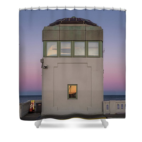 Bridge Tender's Tower Shower Curtain