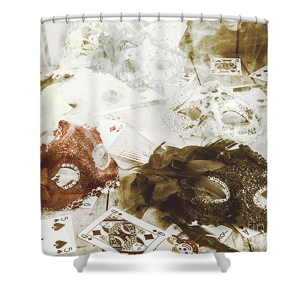Broad Bet Shower Curtain