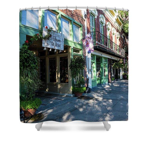 Broad Street Downtown Augusta Ga Shower Curtain