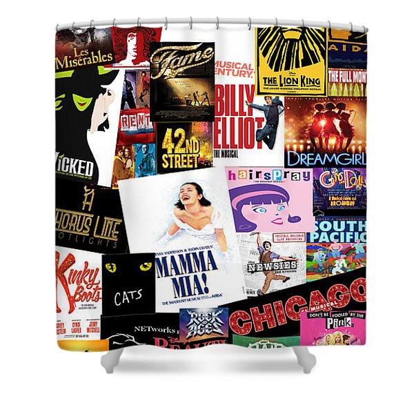 Broadway 22 Shower Curtain