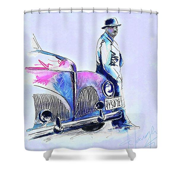 Brooklyn Shower Curtain