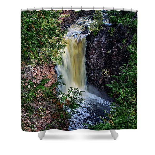 Brownstone Falls Shower Curtain