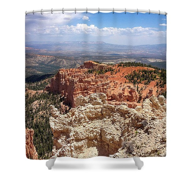 Bryce Canyon High Desert Shower Curtain