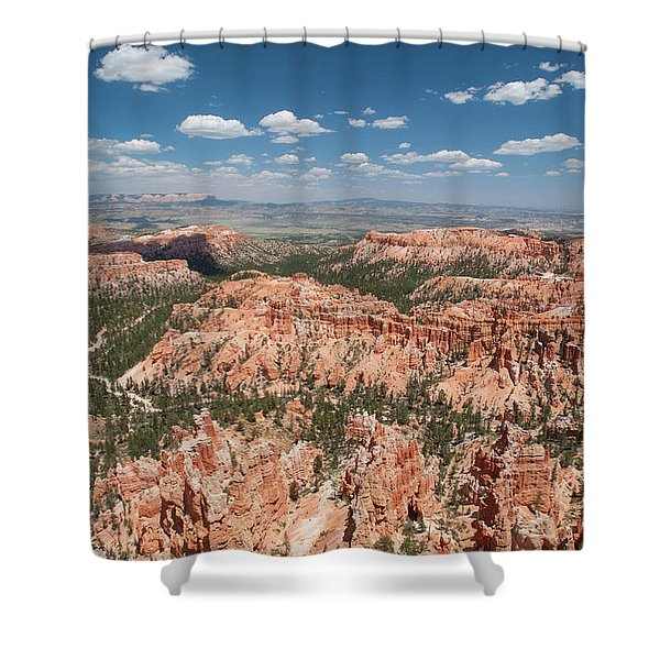 Bryce Canyon Trail Shower Curtain