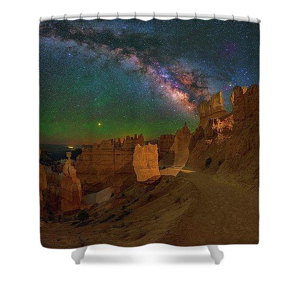 Bryce Panorama Shower Curtain