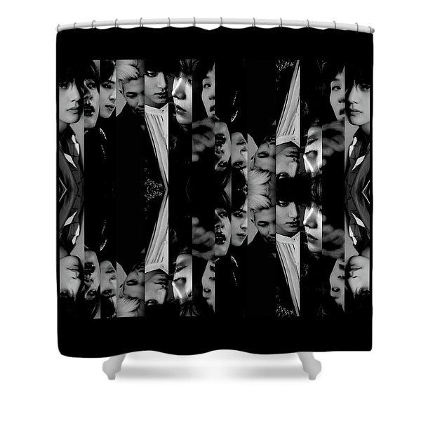 Bts - Bangtang Boys Shower Curtain