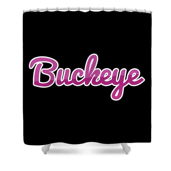 Buckeye #buckeye Shower Curtain