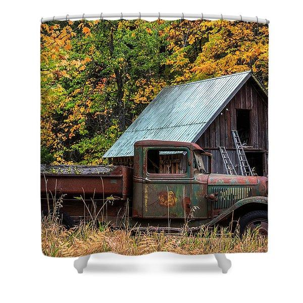 Buckner Orchard Shower Curtain