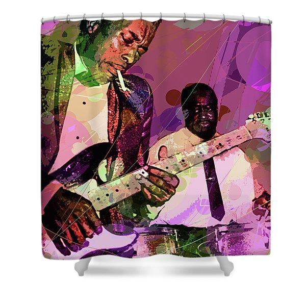 Buddy Guy 1965 Shower Curtain