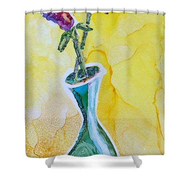 Buds Shower Curtain