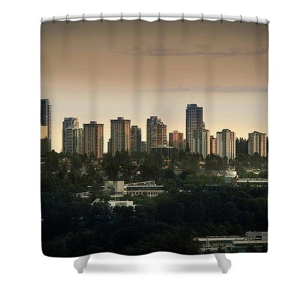 Burnaby Dusk Shower Curtain