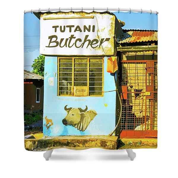 Butcher Shop Shower Curtain