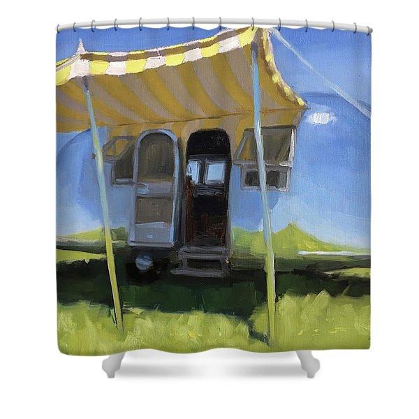 Buttercups And Lemonade Shower Curtain