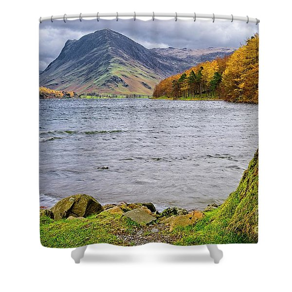 Buttermere Lake District Shower Curtain