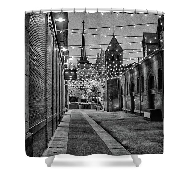 Bw City Lights Shower Curtain