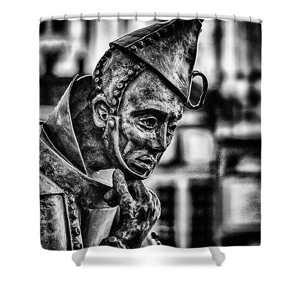 Bw Tinman Shower Curtain