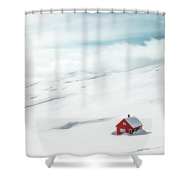 By Myself Shower Curtain