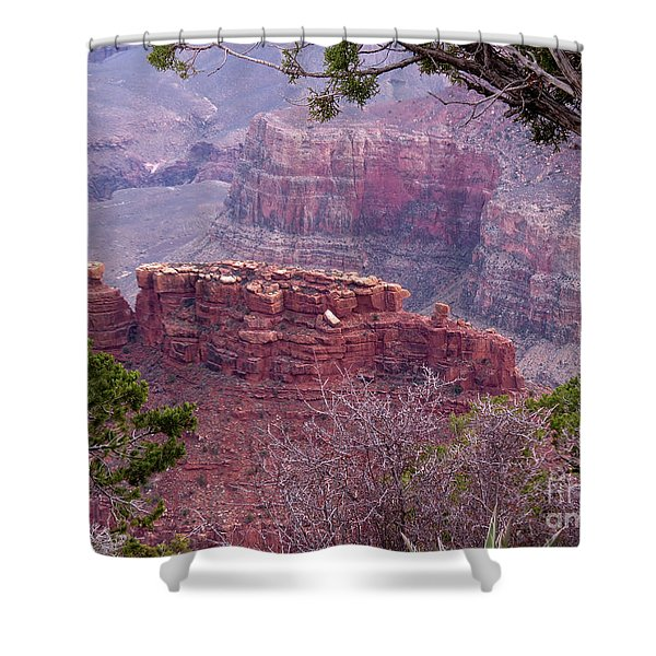 By The Ridge Shower Curtain