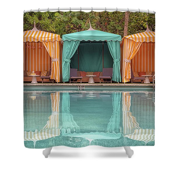 Cabanas Shower Curtain