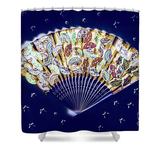 Cabaret Stars Shower Curtain