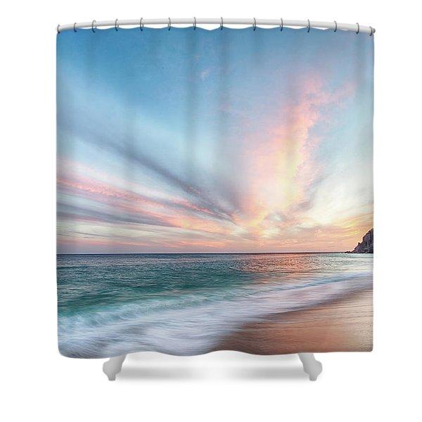 Cabo San Lucas Beach Sunset Mexico Shower Curtain