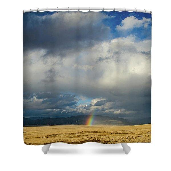 Caldera Rainbow Shower Curtain