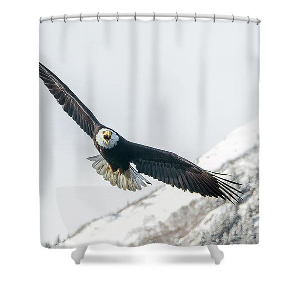 Call Of The Wild North Shower Curtain