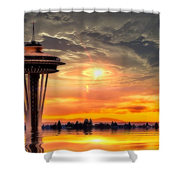 Calm After The Storm Shower Curtain