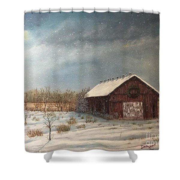 Cambridge Christmas Shower Curtain