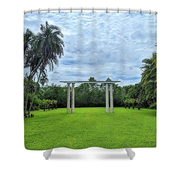 Can You See Your Future? Shower Curtain