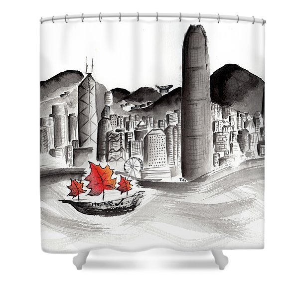 Canadian Masters In Hong Kong Shower Curtain