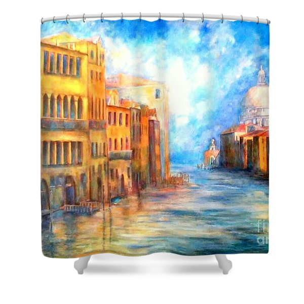 Canale Grande Shower Curtain